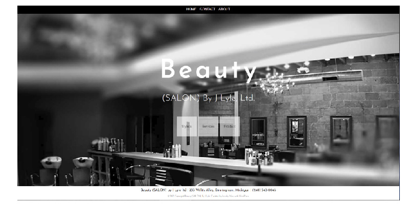 Beauty(Salon) Stylist, Birmingham Michigan | Widescreen Website